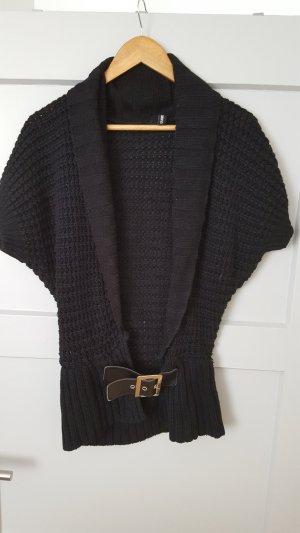Madonna Gilet tricoté noir