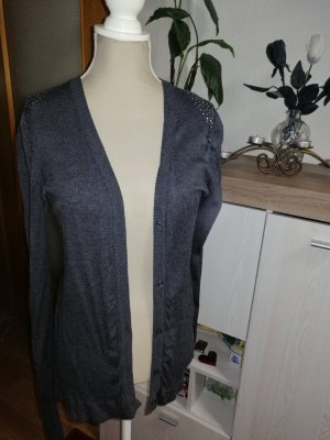 Chaleco reversible gris oscuro
