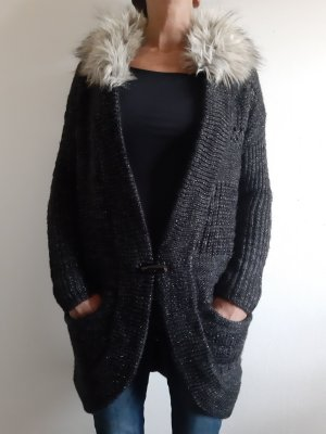 Guess Long Knitted Vest black