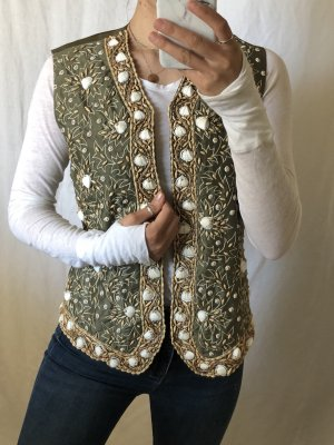 Prestige Elegance Chaleco con flecos multicolor