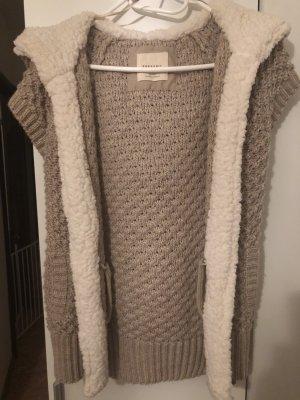 Zara Knit Wollen Jack wolwit-beige