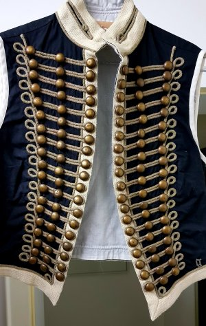 Galliano Fringed Vest black