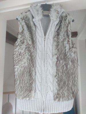 Janina Knitted Vest light grey