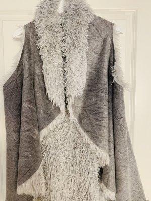 Reversible Vest light grey-dark grey