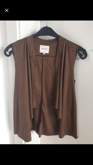 C&A Leather Vest brown