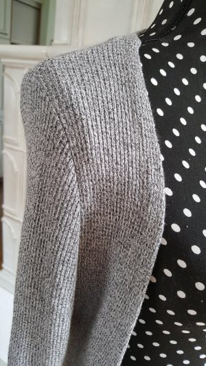17&co Vest silver-colored-black cotton