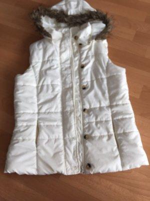 Down Vest white