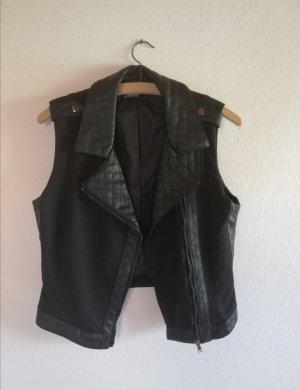 Takko Leather Vest black