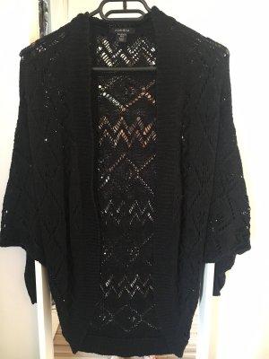 Amisu Gilet tricoté noir