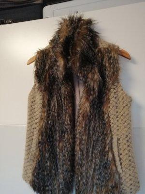 Best Connections Fur vest light brown