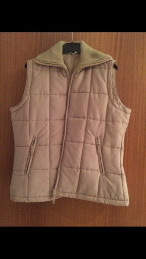 Quilted Gilet beige