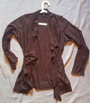 Laura Torelli Leather Vest multicolored polyester