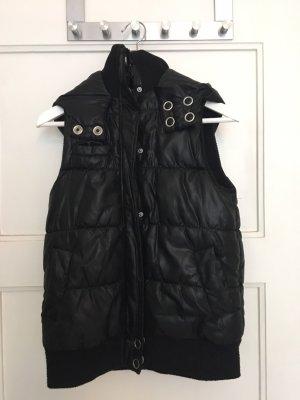 Zara Hooded Vest black