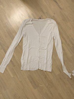 GDM Gilet tricoté blanc