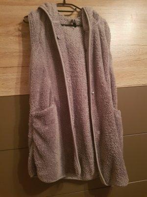 Fleece vest grijs