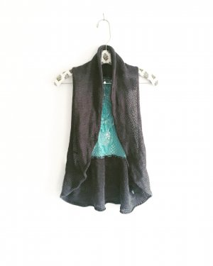 Anthropologie Vest multicolored