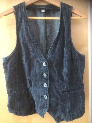 Weste aus Jeansstoff