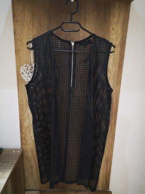 Julie Leather Vest black