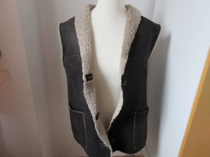 Weste aus Lammfell, shearling, Luna, made in Italy