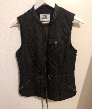 Vero Moda Gewatteerd vest zwart