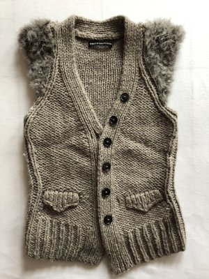 Drykorn Long Knitted Vest multicolored