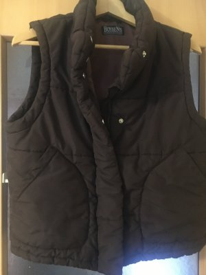 Boysen's Down Vest dark brown