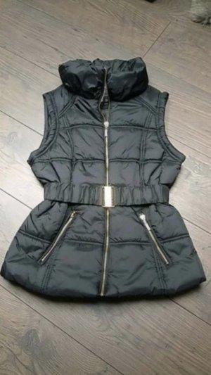Capuchon vest zwart