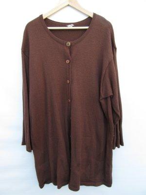 Vintage Long Knitted Vest brown