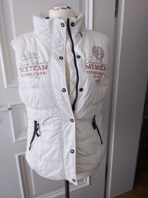 Sports Vests white synthetic fibre