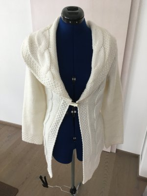 Orsay Long Knitted Vest white