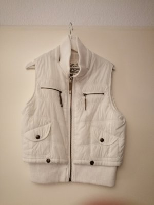 Not the same Down Vest white