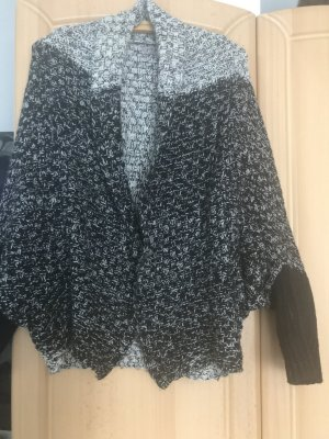 Knitted Blazer black-white