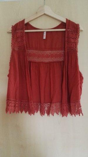 FB Sister Knitted Vest russet