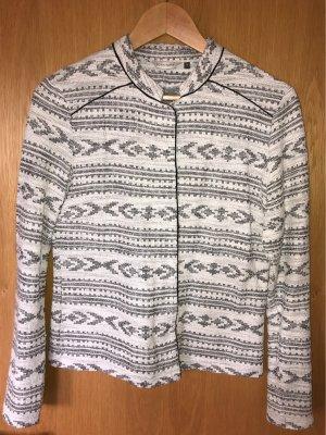 Bonaparte Gilet tricoté noir-blanc