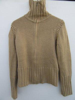 Vintage Gebreid vest bruin