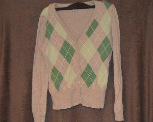 H&M Knitted Vest multicolored mixture fibre