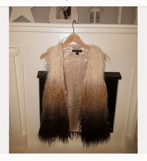 Amisu Fur vest multicolored