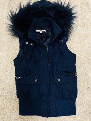 Tally Weijl Hooded Vest dark blue