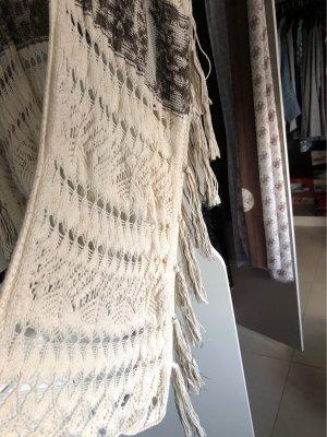Didi Knitted Vest natural white-dark brown