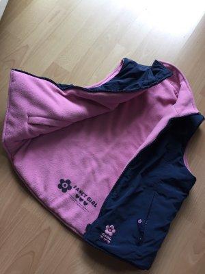 Fancy Sportvest roze-donkerblauw