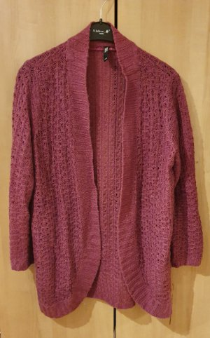 Takko Long Knitted Vest purple