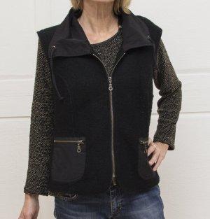 Weste für Damen, Farbe schwarz, Größe XL