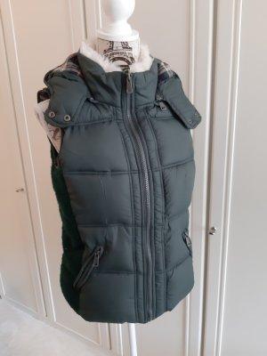 Vintage Boutique Collection Hooded Vest khaki