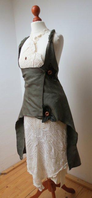 Veste cache-coeur multicolore laine