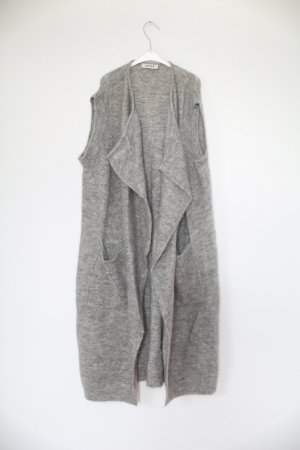 Weste Grau Edited The Label Oversized XXL Look Gr. M