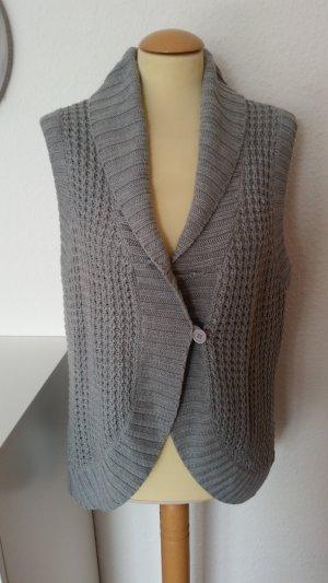 Gina Benotti Gilet tricoté gris acrylique