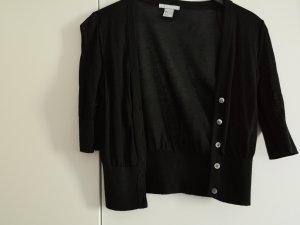 H&M Chaleco de punto negro