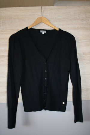 Street One Gilet tricoté noir viscose