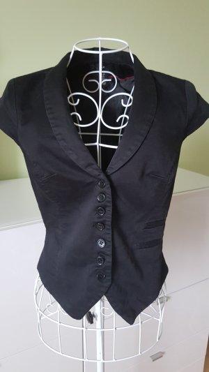 H&M Knitted Vest black