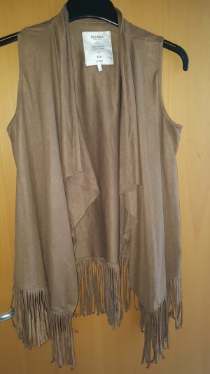 Bershka Vest light brown